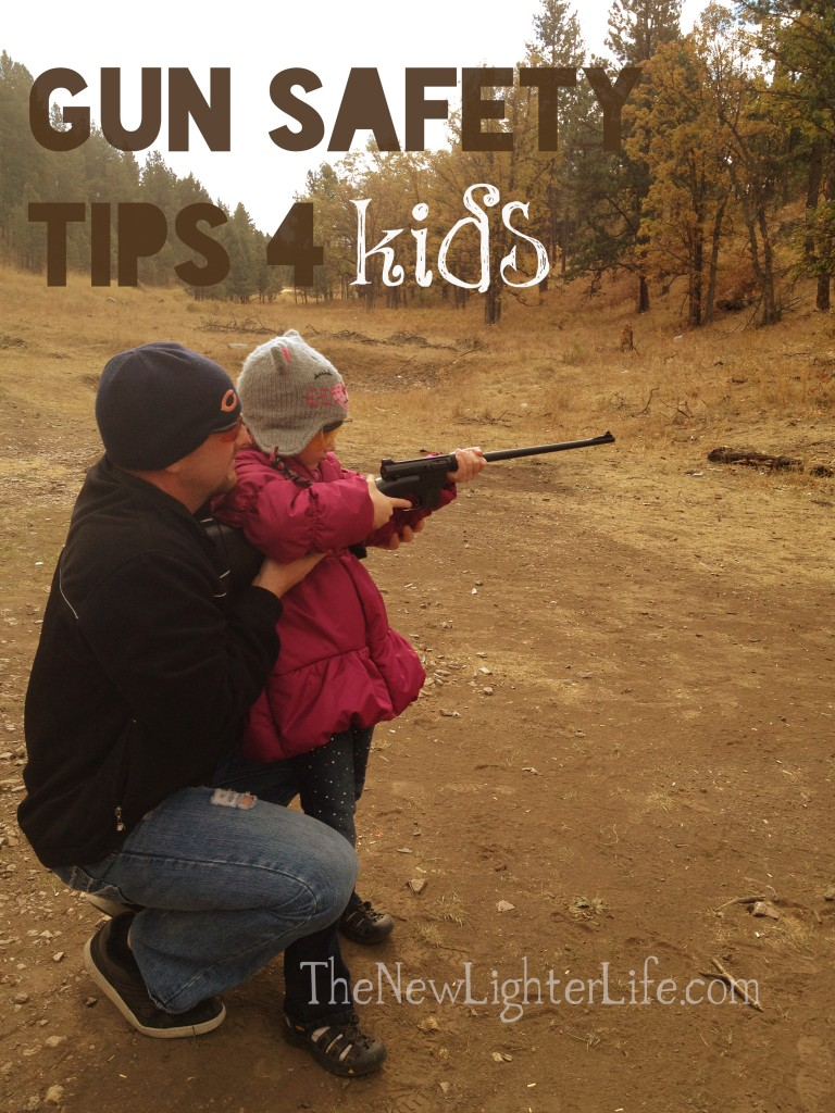 Gun safety tips for kids