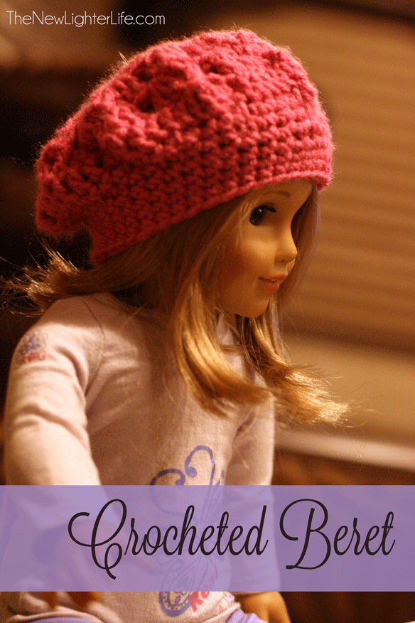 Slouchy American Girl Beret To Crochet The New Lighter Life