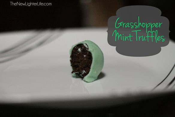 grasshopper-mint-truffles