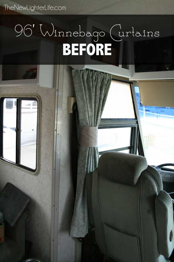 motorhome window treatments