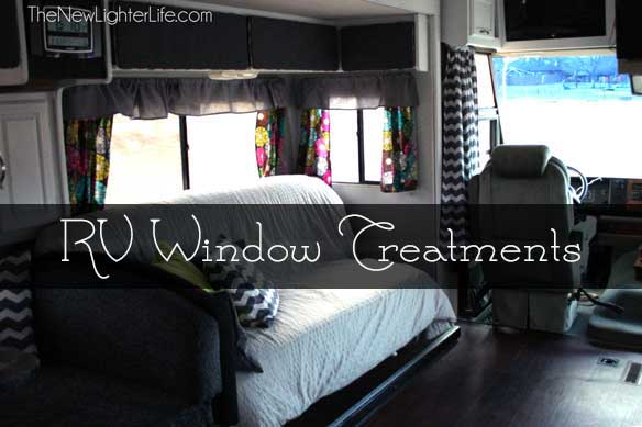 RV Window Treatments - The New Lighter Life