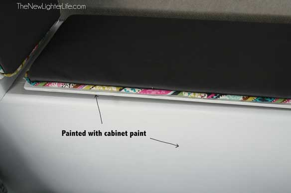 Underside-cabinet