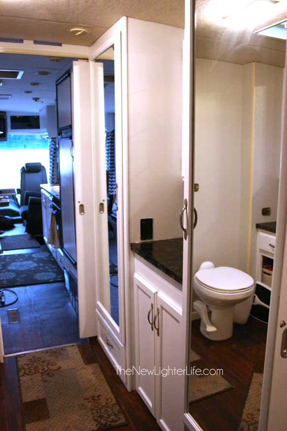 bathroom-and-closet-storage-of-96-winnebago-adventurer