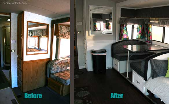Dinette Before And After