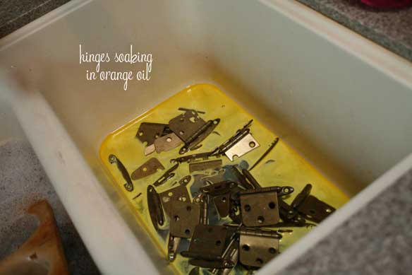 hinges-soaking-in-orange-oil