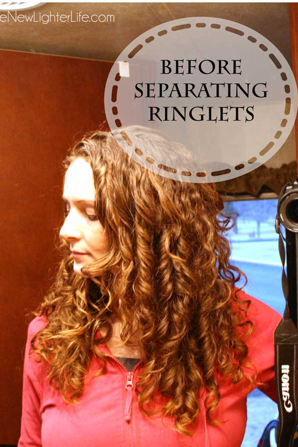 curly-hair-before-seperating-ringlets