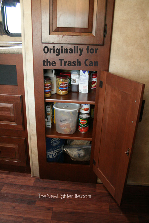 trash-cabinet-converted-to-storage-shelves-in-RV